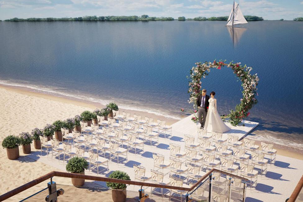 Локация для свадебной церемонии – 4