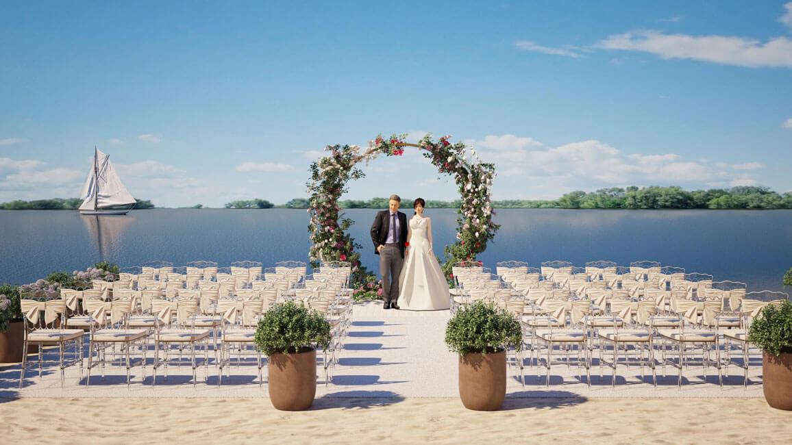 Локация для свадебной церемонии – 5